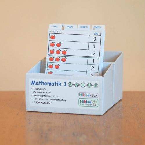 Mathe 1 Spielkarten Arbiestkarten szum Spielenund Lernen mit Freude
